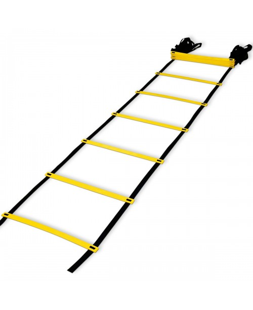 Teenitor 12 rung Agility Ladder Speed ladder Training ladder for Soccer Speed Football Fitness Feet Training with Carry Bag