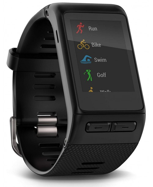 Garmin v&iacutevoactive HR GPS Smart Watch Regular fit - Black