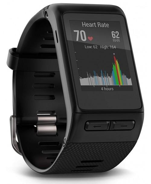 Garmin v&iacutevoactive HR GPS Smart Watch Regular fit - Black