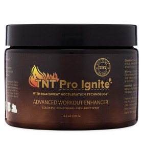 TNT Pro Ignite Stomach Fat Burner Body Slimming Cream With HEAT Sweat Technology - Thermogenic Weight Loss Workout Enhancer (65 oz Jar) &hellip