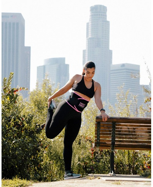 Sports Research Sweet Sweat Premium Waist Trimmer for Men & Women ~ Includes Free Breathable Carrying Case!